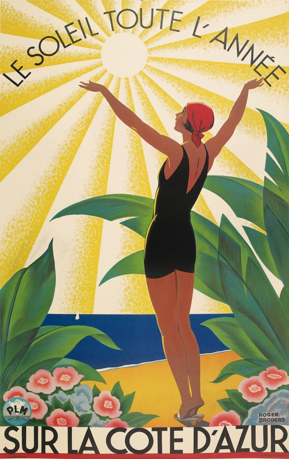 The-Sun-All-Year-On-the-Côte-d\'Azur-1931-Roger-Broders - Flashbak