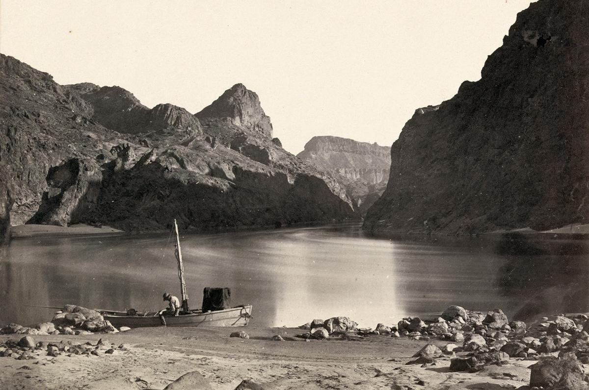 Colorado River in the Black Canyon, Mojave County, Arizona - 1871