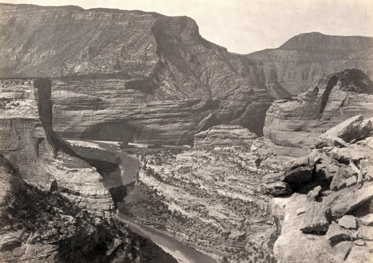 Green and Yampah Canyons, in Utah, in 1872
