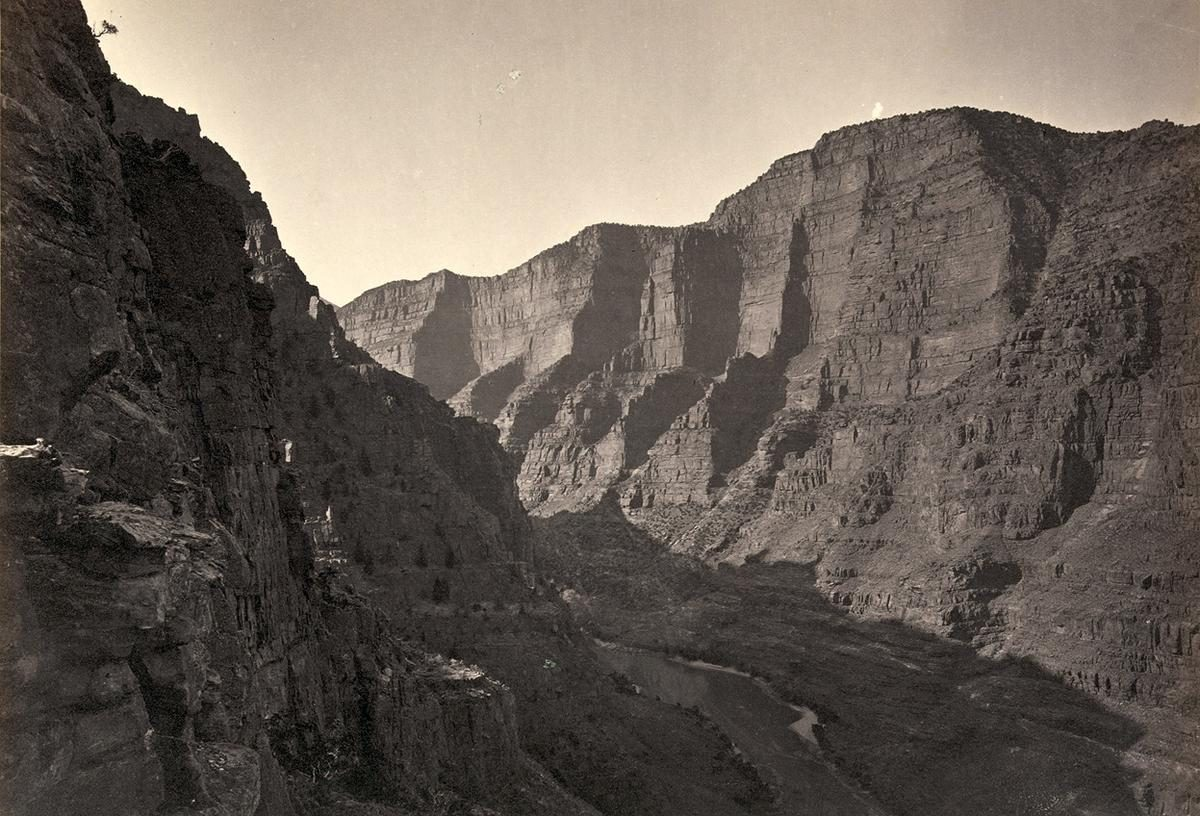 Canyon of Lodore, Colorado, in 1872