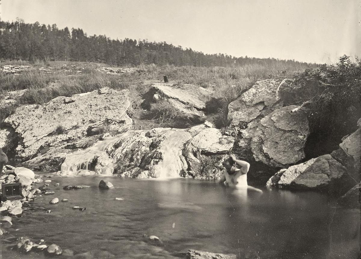 Pagosa Hot Spring, Colorado - 1874