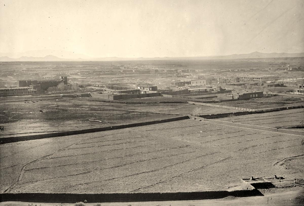 Santa Fe, New Mexico in 1873