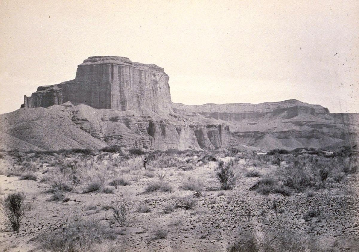 Cathedral Mesa, Colorado River, Arizona, 1871