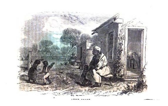 Fullpage illustration for Aunt Phillis's Cabin; or, Southern Life As It Is, by Mrs. Mary H. Eastman.