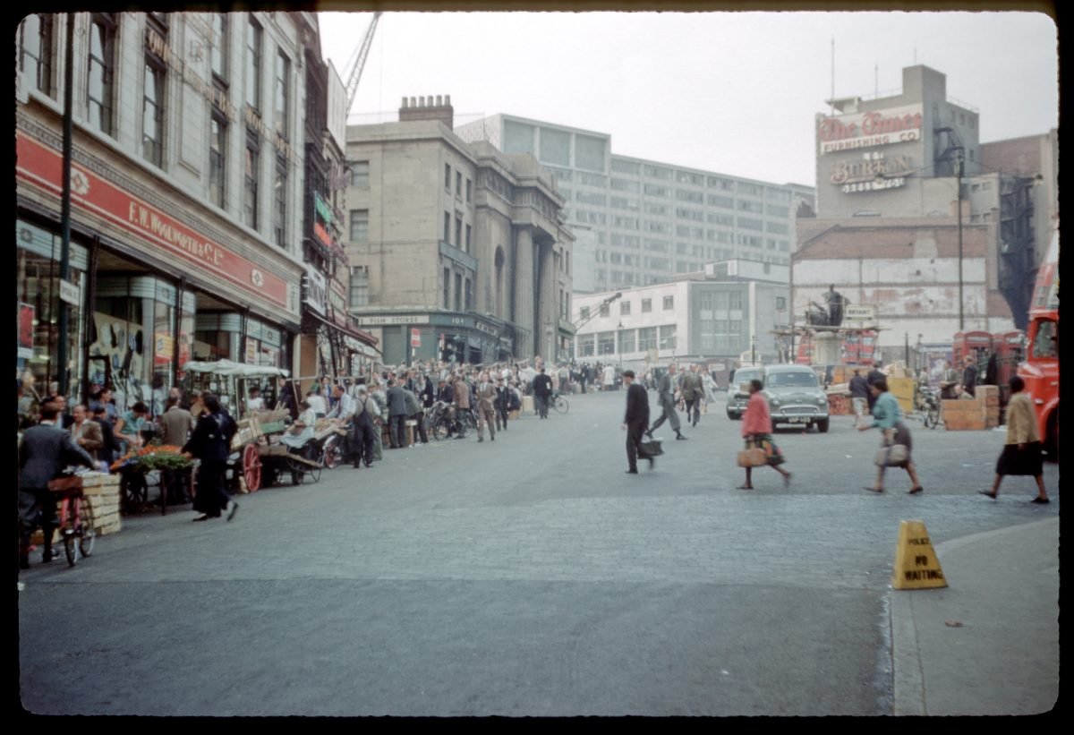 Bull Ring, Moor St : Park St, Inner Ring Rd preparations