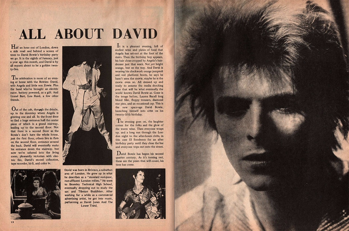 david bowie rock scene 1973