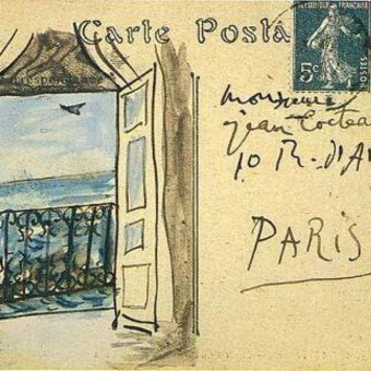 Pablo Picasso's Illustrated Postcards To His Friends