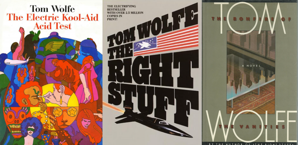 the right stuff by tom wolfe essay Tom wolfe, author of 'the right stuff,' has died, agent says  the analysis of the  best essays, and the factual foundation of hard reporting.