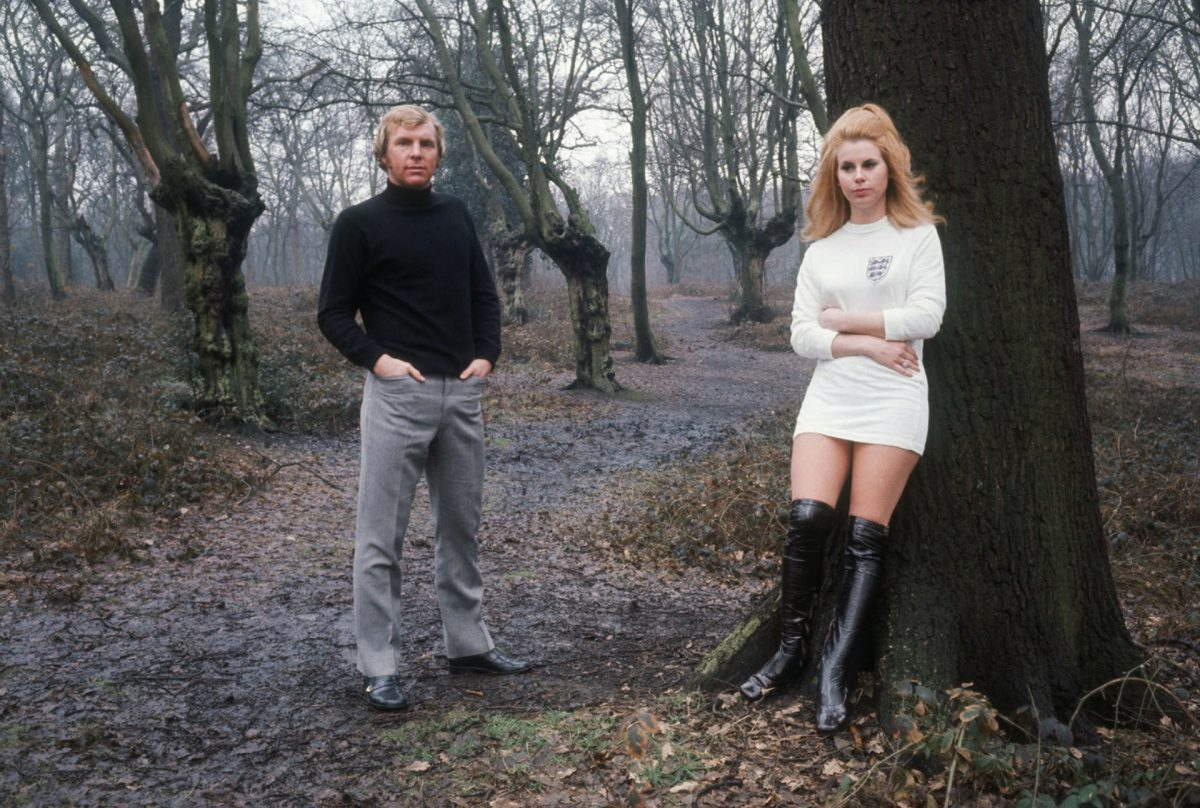 England captain Bobby Moore with his wife Tina circa 1972. Photograph: Terry O'Neill/Getty Images