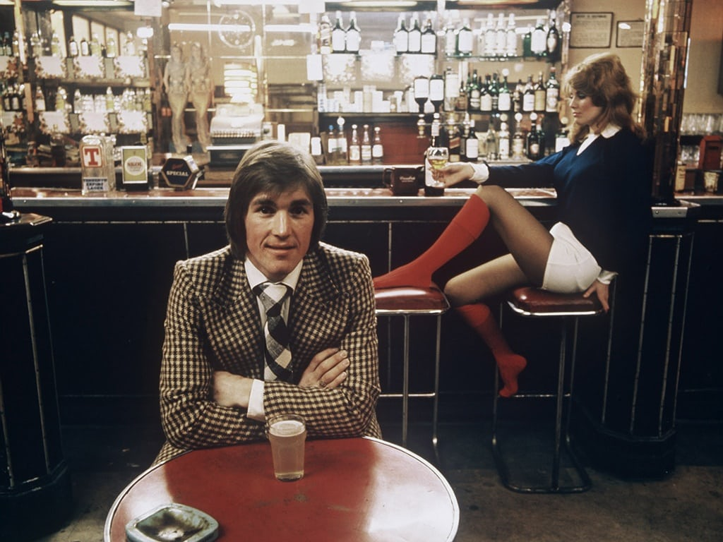 Liverpool's Kenny Dalglish, 1978. Mirrorpix