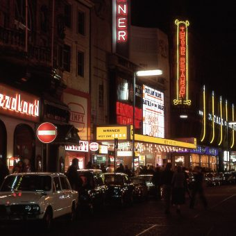 A Stroll Around a Neon-Lit Soho in 1977