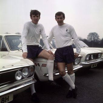 1970: England World Cup Footballers Get Free Ford Cortina 1600Es