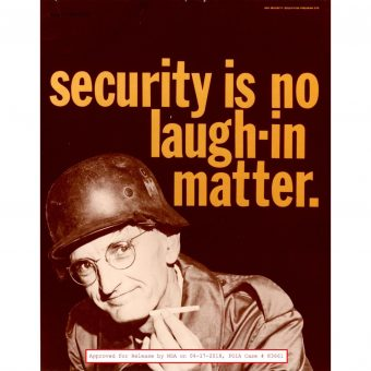 All 135 Vintage NSA Security Posters From The 1950s and 1960s
