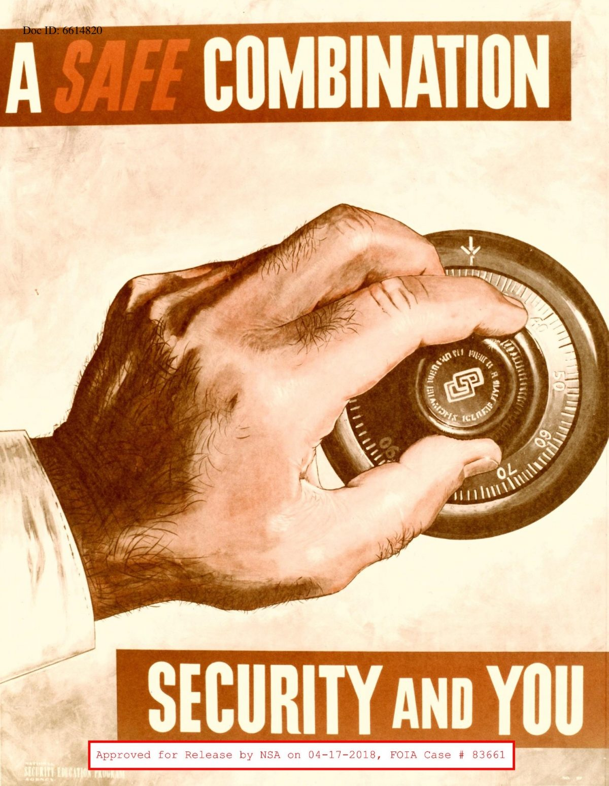 NSA posters 1950s 1960s