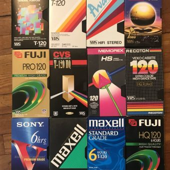 Blank VHS Cassette Packaging Design Trends: A Lost Art