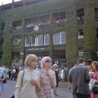 Oh I Say! Pictures of the Wimbledon Championships in 1967