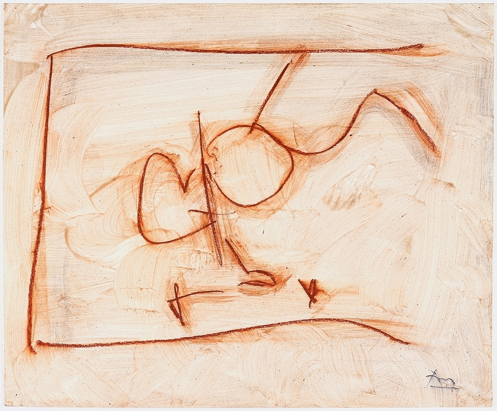 Robert Motherwell, James Joyce, 1979. Acrylic varnish and conté crayon on paper, 28.9 x 35.6 cms. Bernard Jacobson Gallery