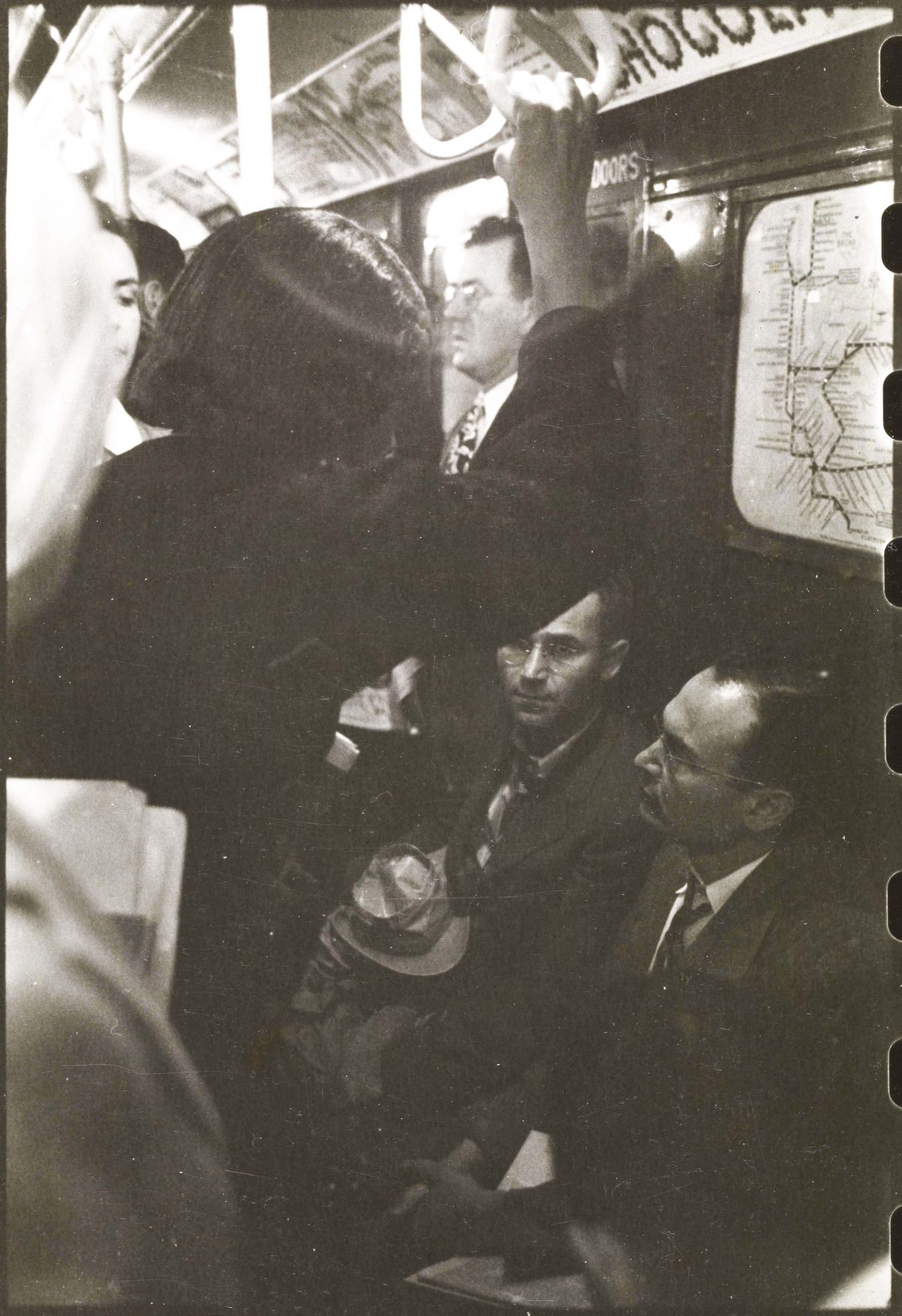 Staley Kubrick New York Subway 1949