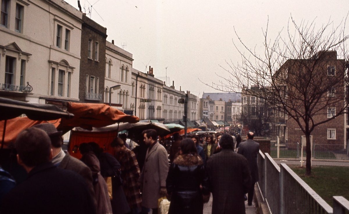 Portobello Road London 1977