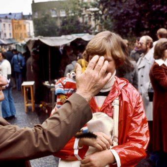 Photos of Portobello Road Market in 1977