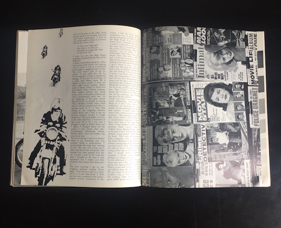 ARK 33, pp39-40, collage and bike image uncredited