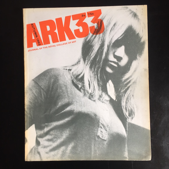 ark 33 cover art magazine