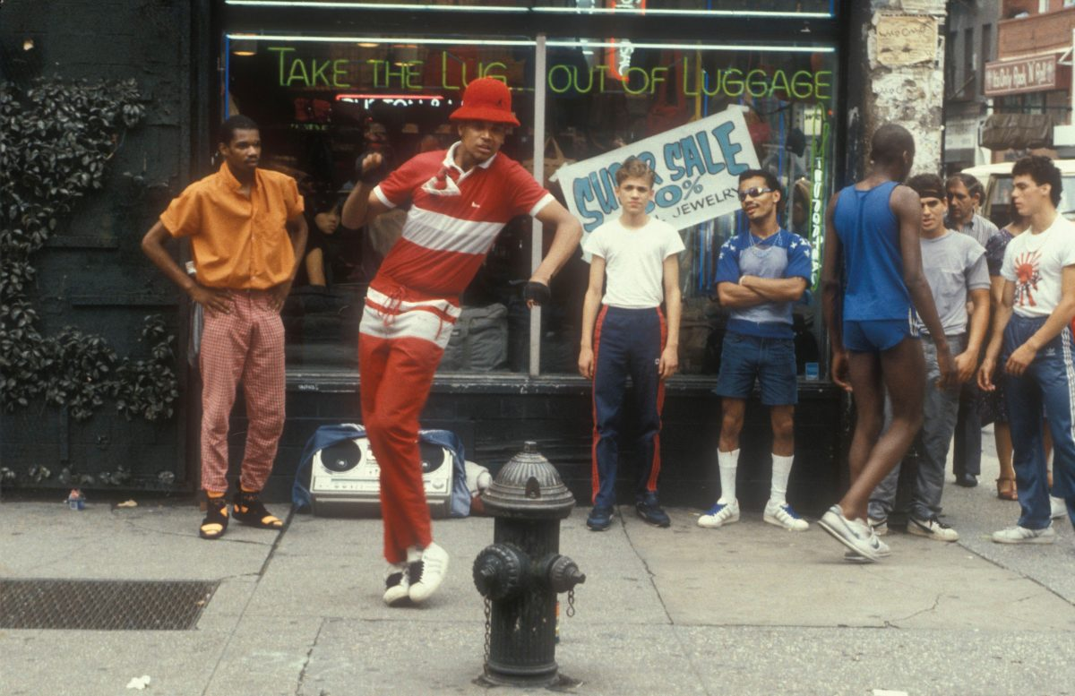 Ted Polhemus  -  Breakdancers, B-Boys, on the street, New York, USA 1981