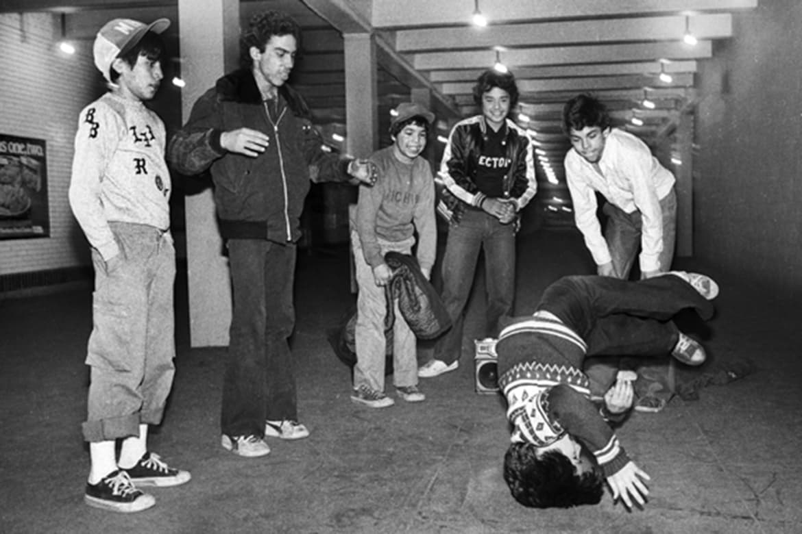 MAGAZINES TRADESHOWS BLOGS PDN PULSE PHOTO OF THE DAY SERVICES CONTESTS EDUCATION MEMBERSHIP ADVERTISE PDN Photo of the Day ABOUT CATEGORIES ARCHIVES Search March 24, 2015 High Times Crew breaking outside transit police station, Washington Heights, Manhattan, 1980. © Martha Cooper/Courtesy Museum of the City of New York