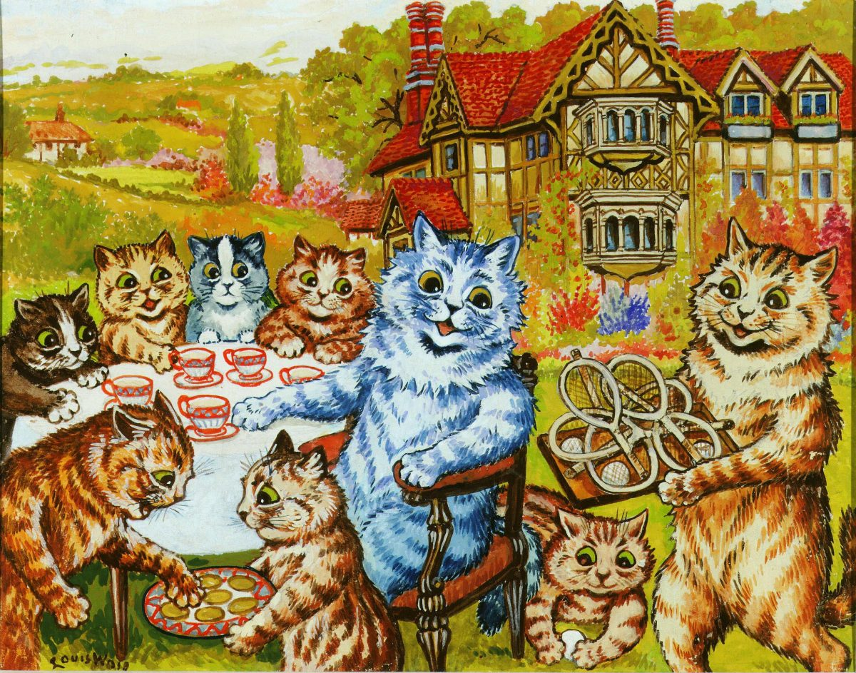 Cat's Tea Party (Louis Wain)