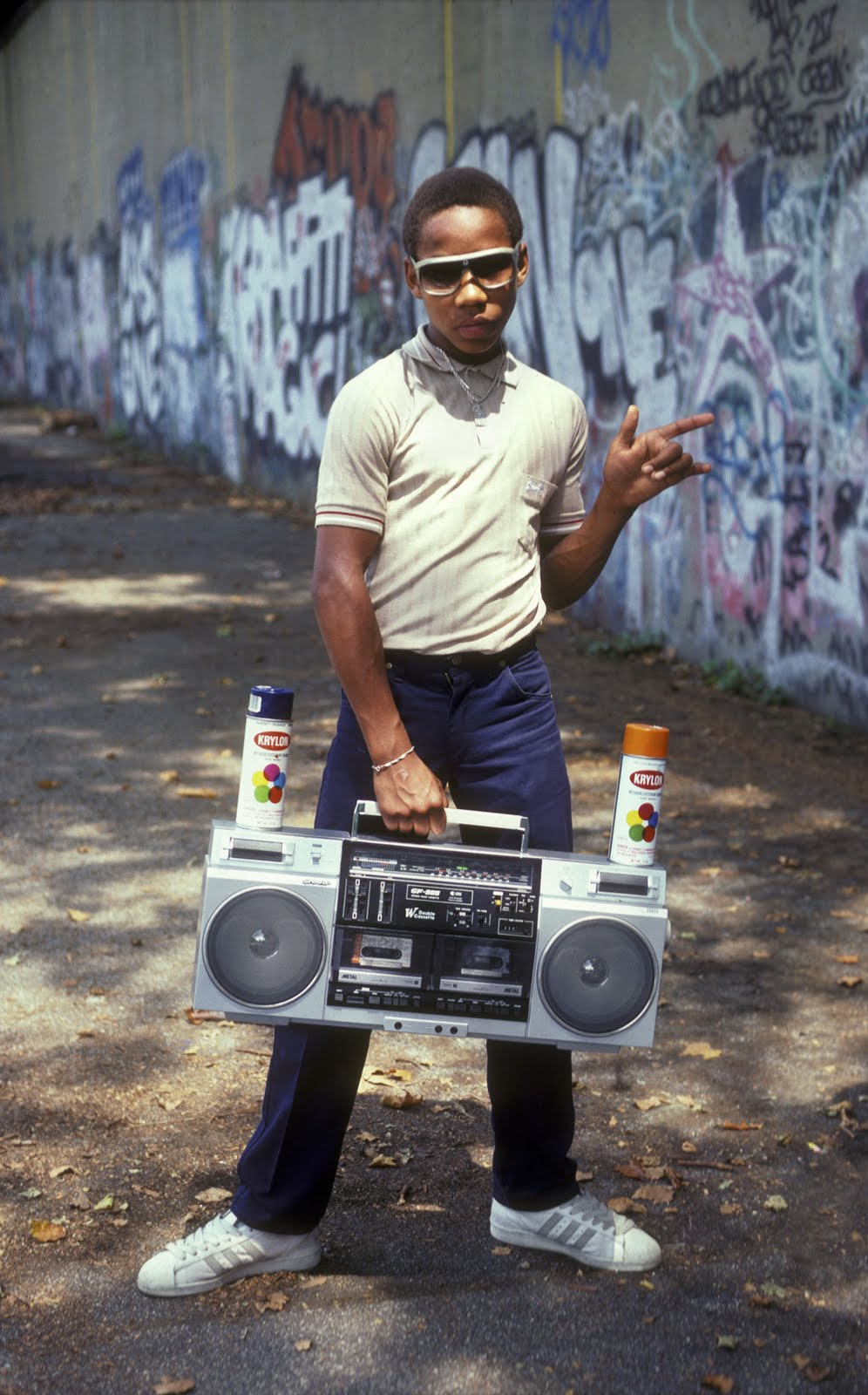 Rap hip hop 1980s NYC