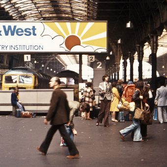 Pictures of London Railway Stations in the 1970s