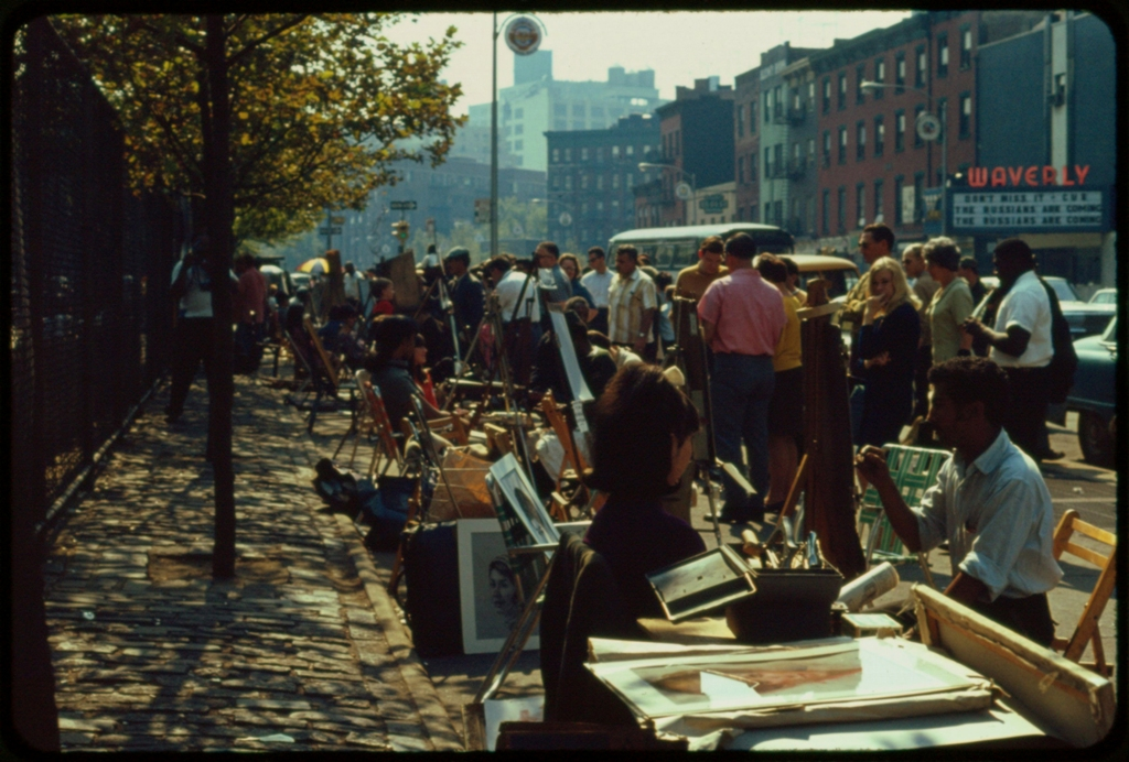 NEw York Greenwich Village Art Fair - 1966