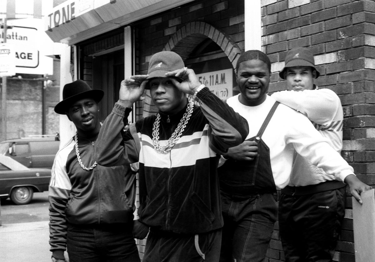 LL Cool J, with Cut Creator, E Love and B-Rock , Manhattan 1987 - by Janette Beckman