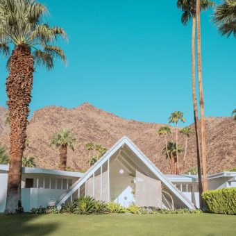 "The ""Modernist Mecca"" of Palm Springs: Photographer Ludwig Favre Captures the Charm of Desert Modernist Houses from the Mid-20th Century"