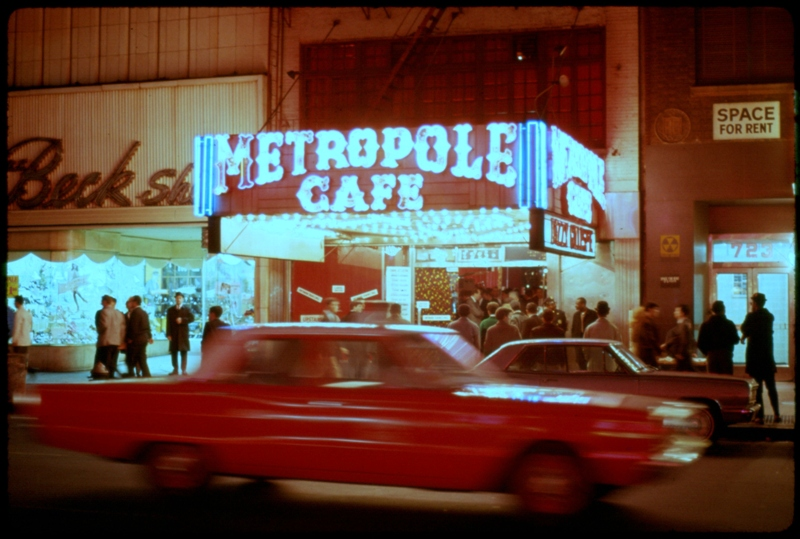 Metropole Cafe New York City 1966