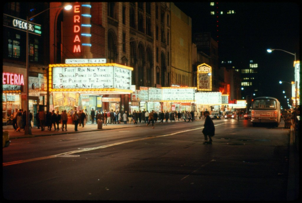 New york New Amsterdam Theater - Jan 1966