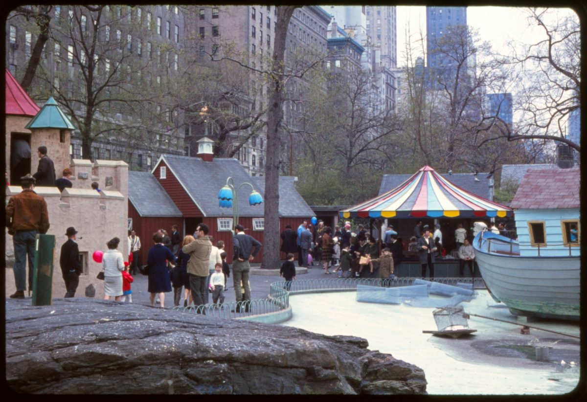 New York City playground 1966