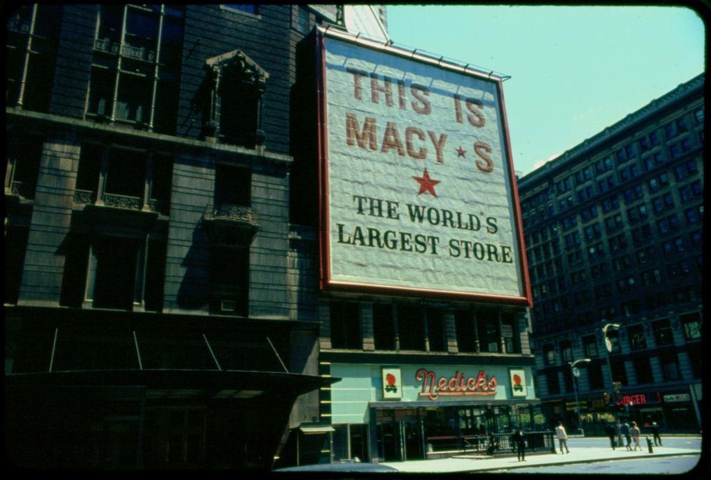 Macys New York June 1966