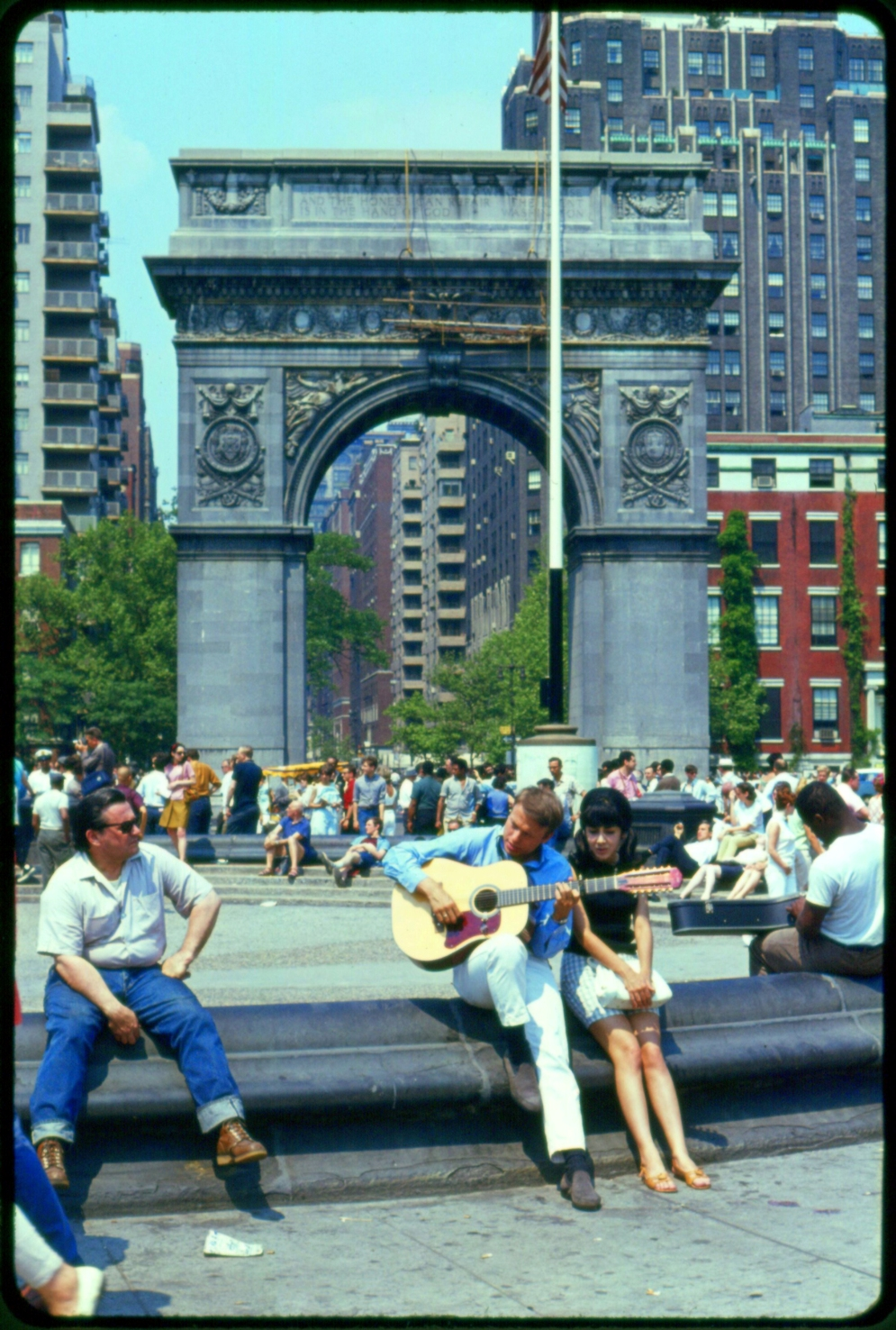 Washinton Arch New York 1960s