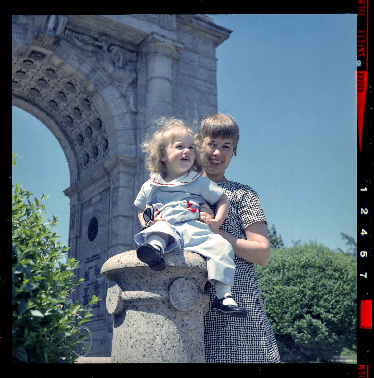 New York Washington Square Park 1966