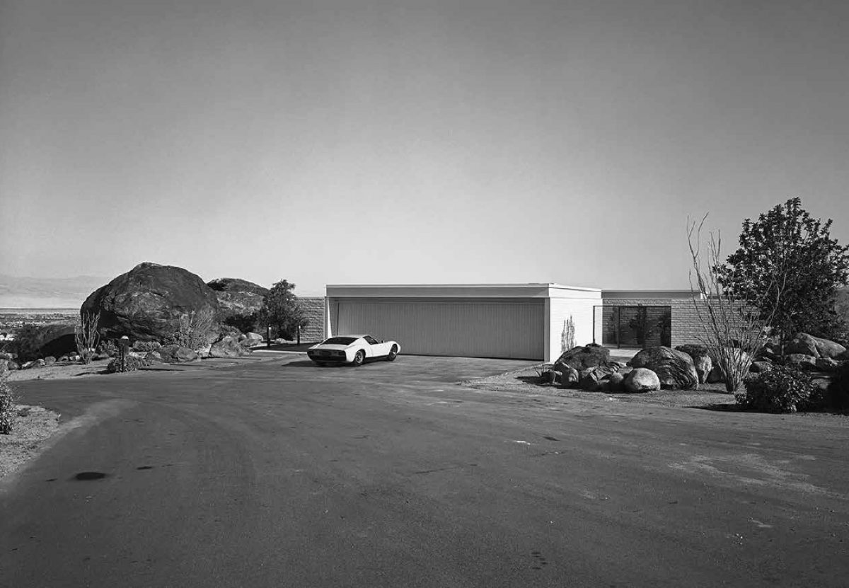 Craig Ellwood, Palevsky House, Palm Springs, 1971