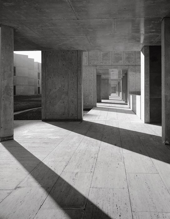 Louis Kahn Salk Institute, La Jolla, 1963Courtesy of the Estate of Marvin Rand