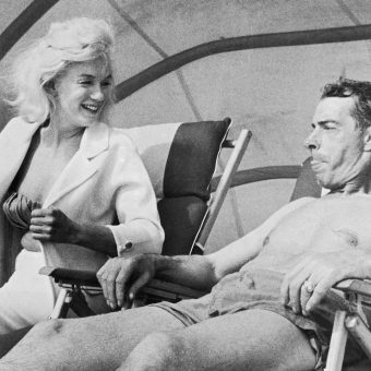 Classic Celebrity Beach Photos: Marilyn Monroe, Audrey Hepburn, Paul Newman, The Rolling Stones & More