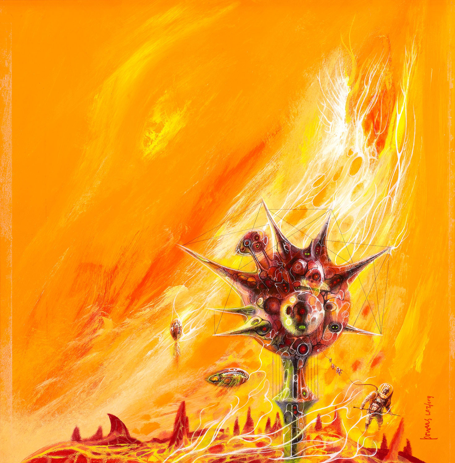 Cover story: Surrealism of Richard Powers Picketing Books 57