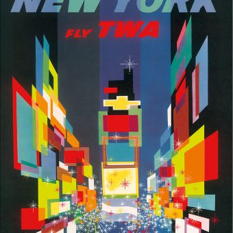 David Klein's Magnificent TWA Posters