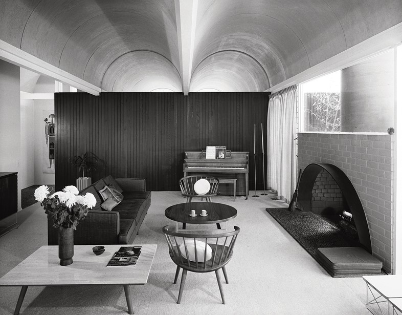 Richard Dorman & Associates, Vault Roof House, Sherman Oaks, 1959Courtesy of the Estate of Marvin Rand