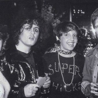 Photos of Marc Bolan in His Last Years with Bowie, Billy Idol, Siouxsie Sioux, The Damned, Elton John, and Rod Stewart