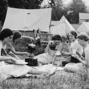 Roughing It in the 1930s: Camping Photos from 80 Years Ago