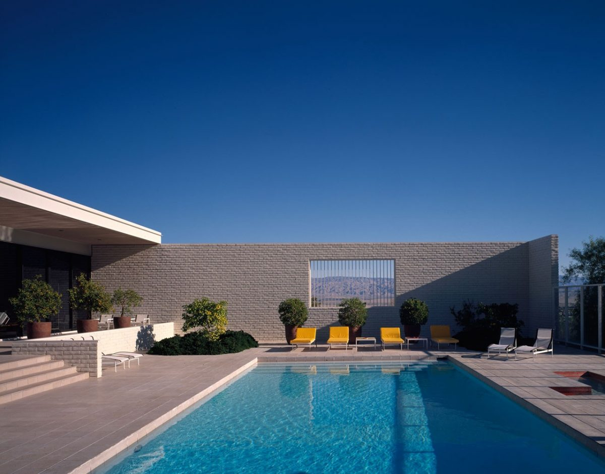 Craig Ellwood, Palevsky House, Palm Springs, 1971Courtesy of the Estate of Marvin Rand