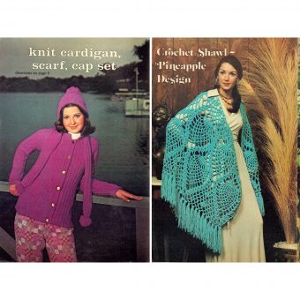 The Singularly Mediocre Fashions of Grandma's 1970s Workbasket Magazine